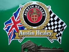 AUSTIN HEALEY Flags & Scroll car sticker Sprite 3000