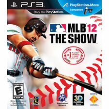 MLB 12: The Show (Sony PlayStation 3, 2012) PS3- Red Sox Adrian Gonzalez Cover