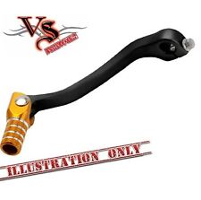 Apico Forged Gear Lever Suzuki RM125 01-08 Black and Yellow