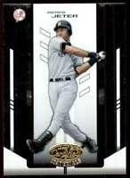 2004 Leaf Certified Materials Derek Jeter New York Yankees #51