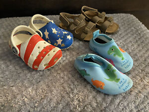 Baby Boy Crocs Lot Size 4