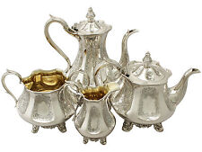 Antique Silver Plated Tea/Coffee Pot Sets 1850-1899