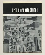 1963 Herbert Bayer ARTS + ARCHITECTURE Craig ELLWOOD Wendell LOVET Richard Koppe