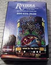 Original Poker Cartes RIVIERA HOTEL & Casino Playing Cards Nouveau-NEUFS