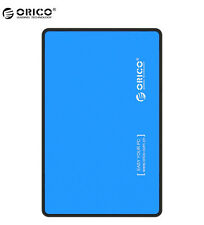 "ORICO 2.5"" SATA to USB 3.0 External Enclosure Hard Disk Box Storage Case Blue"