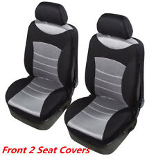 Pair Custom Seat Covers For Toyota 3D Mesh Breathable
