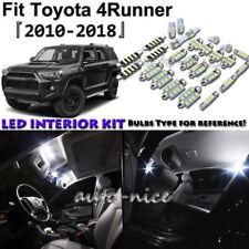 14x White LED Interior Lights Package Kit For 2010 - 2017 2018 Toyota 4Runner