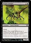 PLAGUE STINGER Scars of Mirrodin MTG Black Creature — Insect Horror Com