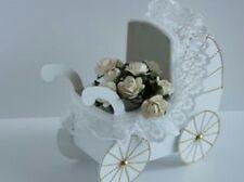 3D tarjeta de papel de regalo de recuerdo bebé Cochecito plantilla