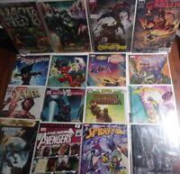 Comic Lot Of 16 Keys, Variants, 1st App. & #1s, Cover Homage. Marvel, IDW, Image
