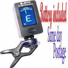 Digital Guitar Tuner Violin Ukulele Bass LCD Electronic Clip on Chromatic Tuner