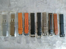 Assorted watch bands - Timex, B&R, Xeric