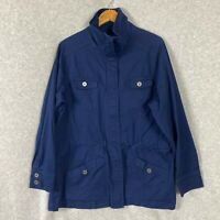 Avenue Womens Light Weight Jacket Blue Size 14/16