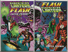 GREEN LANTERN FLASH: FASTER FRIENDS - Parts One & Two VF/NM 9.0-9.2 || DC Comics