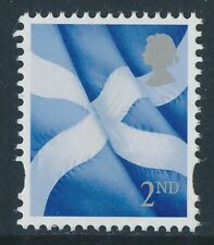 2018 2nd Class SCOTLAND PICTORIAL Definitive - with Light Grey HEAD