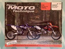 Revue MOTO Technique KTM Enduro 250 et 300 GS/EGS/EXC - YAMAHA Enduro WR 400 F