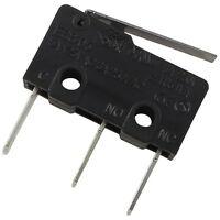 2 ECE ESS0511310 Mikroschalter 250V 3A 1xUM 0,49N Hebel 19,8x6,4x10,2mm 856433