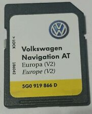 Carte SD Navigation AT Volkswagen Europe V2 5GO 919 866 D