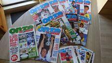 13x Football ONZE MONDIAL 1989 ANNEE COMPLETE + Hors serie 1 et 2
