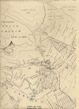 Harrison Purchase Rye NY 1910 Maps with Landowners Names Shown