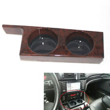 For BMW E39 1997-2003 Front Cup Holder Carbon fiber pattern/Peach wood