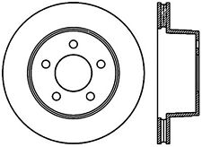 Disc Brake Rotor-4WD Front Right Stoptech 127.67022R