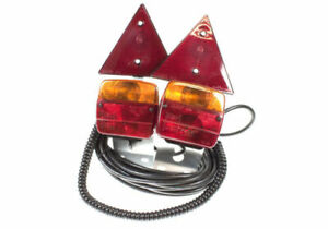 MAYPOLE HEAVY DUTY MP4412 MAGNETIC LIGHTING POD TRIANGLES.1.8M CORD, 6M CABLE