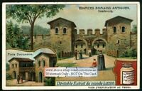Ancient Roman Saalborg Frankfurt Germany c1908 Trade Ad  Card