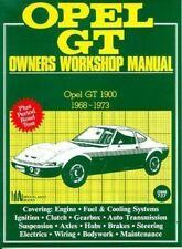 Opel Gt 1968 1969 1970 1971 1972 1973 Owner'S Workshop Service Repair Manual New