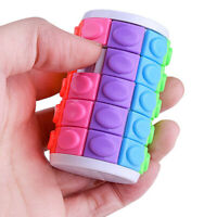 Colorful Magic Tower Puzzle Rotate Slide Puzzle Toy for Kids Children