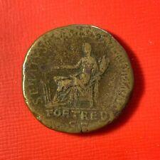 #5049 - ROMAINE Sesterce - Trajan SENATVS POPVLVS QVE ROMANVS