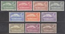 Montserrat 1932 KGV 300th Anniv Settlement Set Mint SG84-93 cat £160