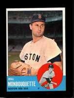 1963 TOPPS #480 BILL MONBOUQUETTE EXMT RED SOX *SBA3949