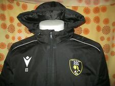 Ancienne VESTE PARKA MACRON SOC CHAMBERY RUGBY TXL Stade Olympique Chambérien