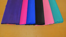 "6 SHEETS OF CREPE PAPER 19""x78""  COOL COLOR MIX"