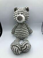 Gund Zag 4044071 Zebra Stripe Teddy Bear Plush Kids Soft Stuffed Toy Animal Doll