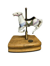 Vtg Tobin Fraley The American Carousel Collection Limted Edition #4764 Music Box