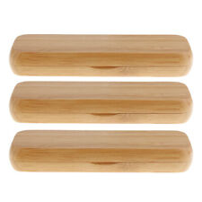 3pc Bamboo Fountain Pen Display Box Case Ballpoint Container Gift 2 Pen Slot