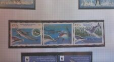 2005 NEW CALEDONIA STAMPS SET OF 3 DOLPHINS  MUH SET