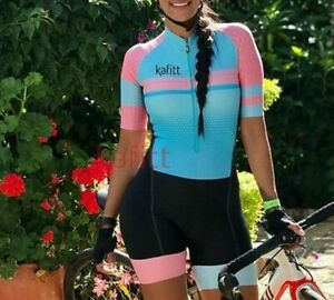 Women's Triathlon Short Cycling Bicycle Bike Jersey Set Skinsuit Training Outfit