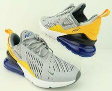 Nike 943345-014 Air Max 270 Wolf Grey Blue Gold Sneaker Boy 7Y, Men 7, Women 8.5