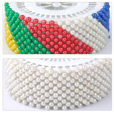 480Pcs Dressmaking Sewing Pin Straight Pins Round Head Color Pearl Corsage DIY.