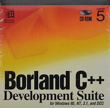 Borland C++ Development Suite Version 5 Windows 95, NT, 3.1 & DOS NEW