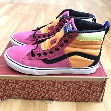 Vans Men Sk8 HI MTE Pink Sneakers Size 9.5 DX Pink Tangerine