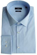 Hugo Boss Camisa Talla 44 (17.5 ), Slim Fit, dos Ply, forma: jenno , 50281330