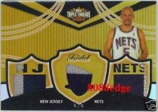 2006-07 TOPPS TRIPLE THREADS PATCH #54: JASON KIDD #9/9 NEW JERSEY NETS