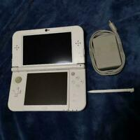Nintendo Japan 3DS LL XL Game console Pearl White Used Good Condition JP DHL