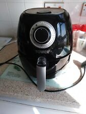 Tower T17005 1350W 3.2L Air Fryer - Black  Hardly used . Black excellent cond.