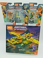 Lot 4 Mega Construx MOTU Masters Of The Universe Wind Raider Evil Lyn Beastman