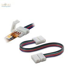 Conector rápido RGB SMD LED Raya, Cintas Cable de conexión 15cm Conector